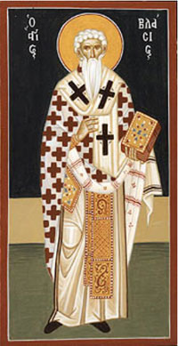Icon of St. Blaise