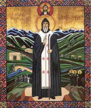Icon of St. Maron