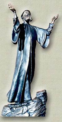 St. Charbel statue
