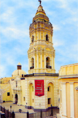 Bell Tower at the Holy Rosary Convent