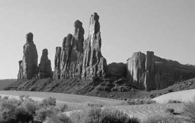 Rock formations in Arizona