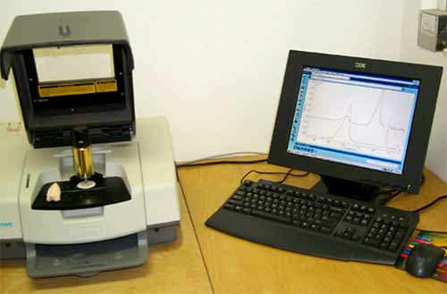 A Fourier Transfer Infra-Red spectrophotometer