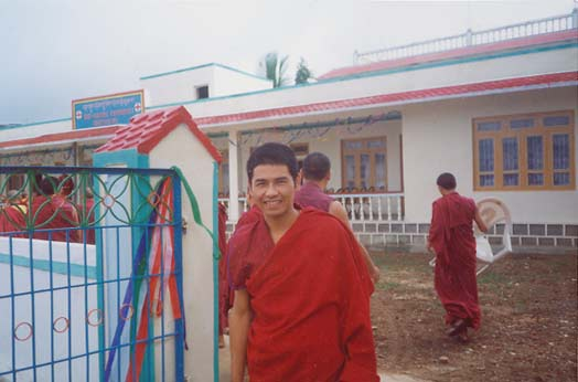 One of the Tibetan doctors at Drepung