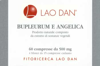 Label of Lao Dan Chinese Herb Products