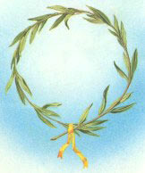 the Olympic laurel wreath award.