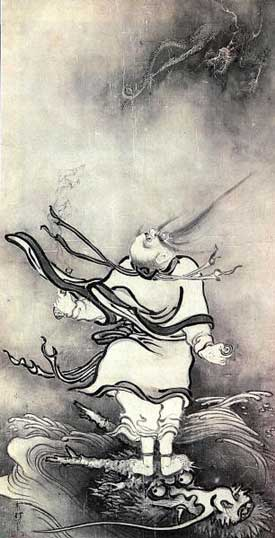 The Daoist Immortal Lu Dongbin