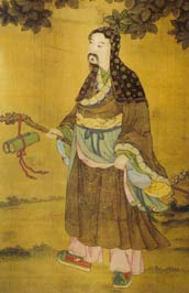 Painting of Qiu Changchun (Qiu Quji)
