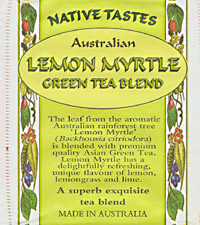 Lemon Myrtle tea packet