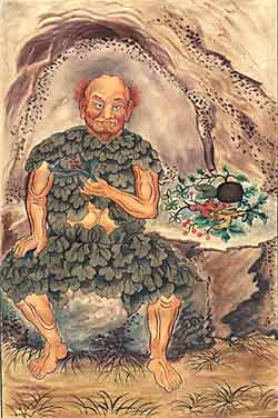 Painting of Shennong