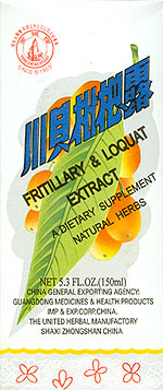 Fritillaria and Loquat Extract