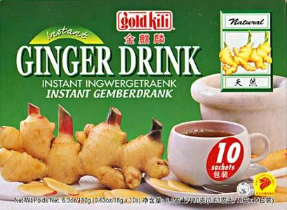 Asian ginger tea